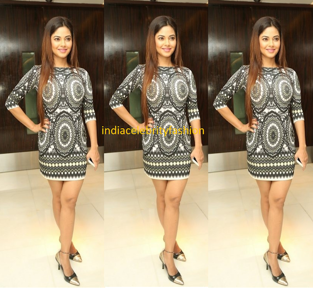 Meera Chopra in Printed Dress