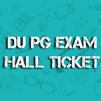 DU PG Entrance Subject Wise Hall Ticket