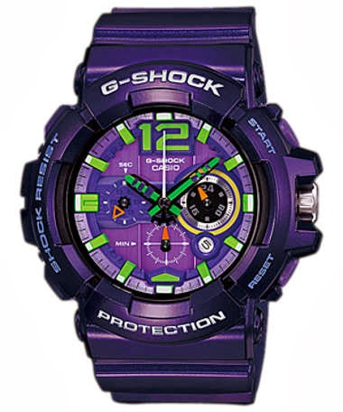The Purple G-Shock GAC-110-6A