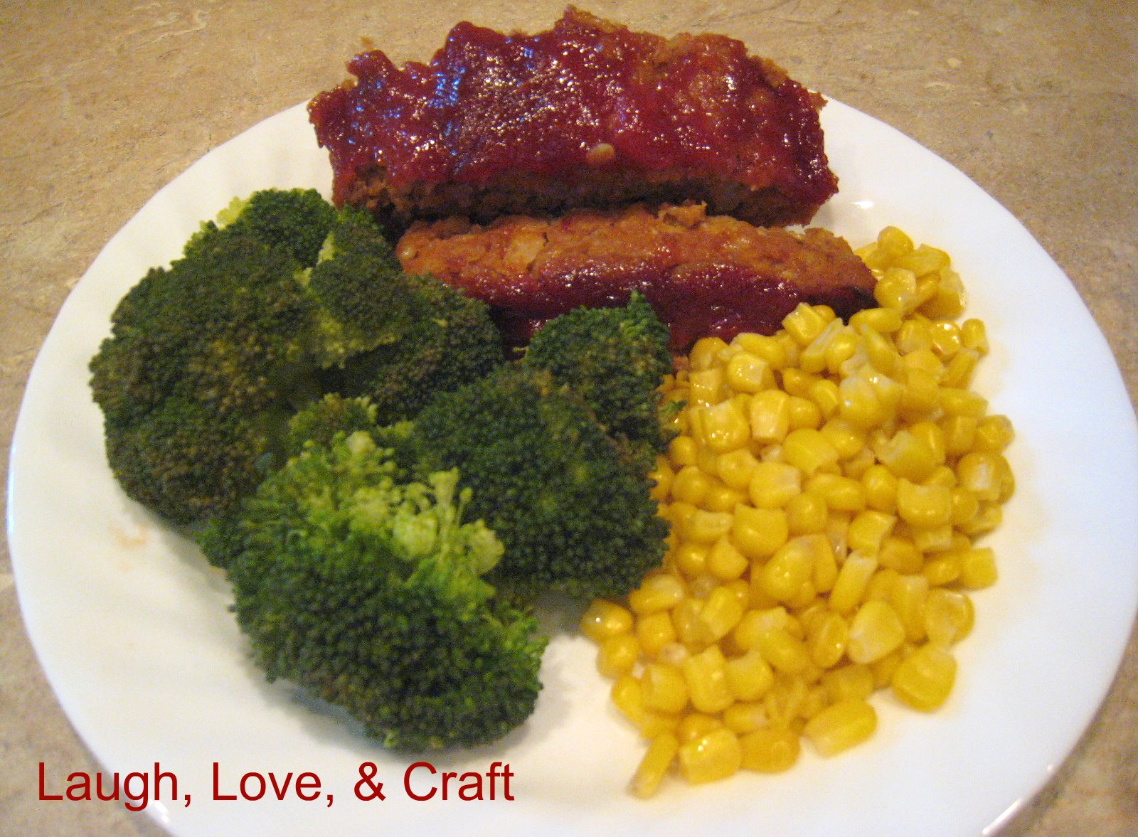 how to make ketchup sauce for meatloaf