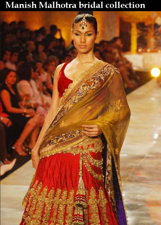 Latest Stylish Wedding Lehenga Dresses 2013 By Manish Malhotra ...