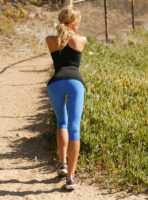 Kaki West hot workout stills