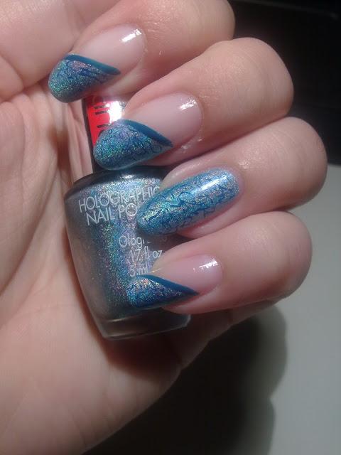 tutorial nail art effetto marmo04
