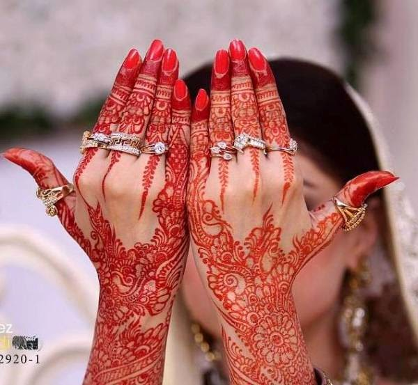 Mehndi Like Flowers : Flower mehndi designs indian for