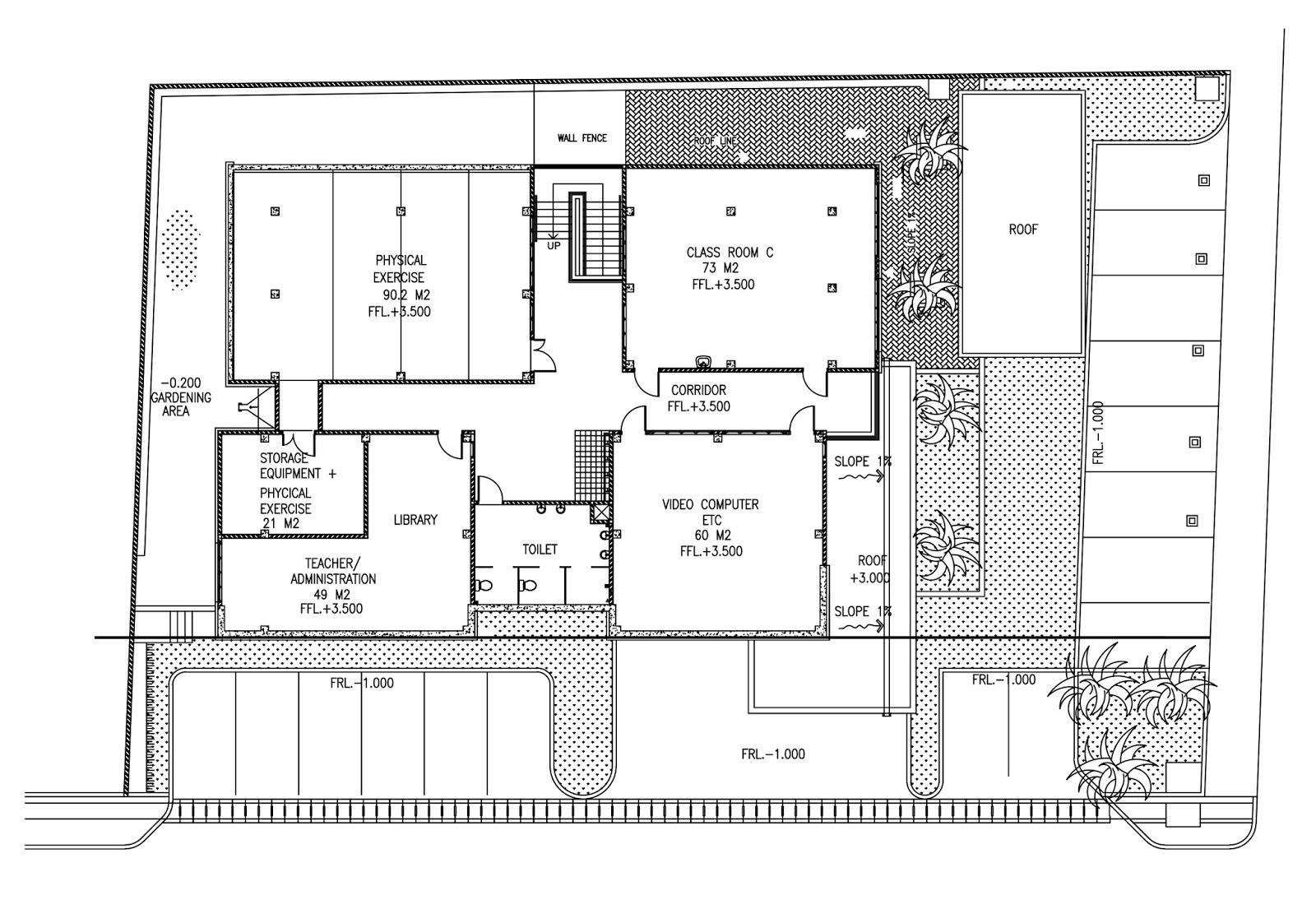 Denah Perpustakaan Sekolah Dasar Peta Dan Denah Sd N 6 Pejarakan Gambar Sketsa Sekolah Dasar