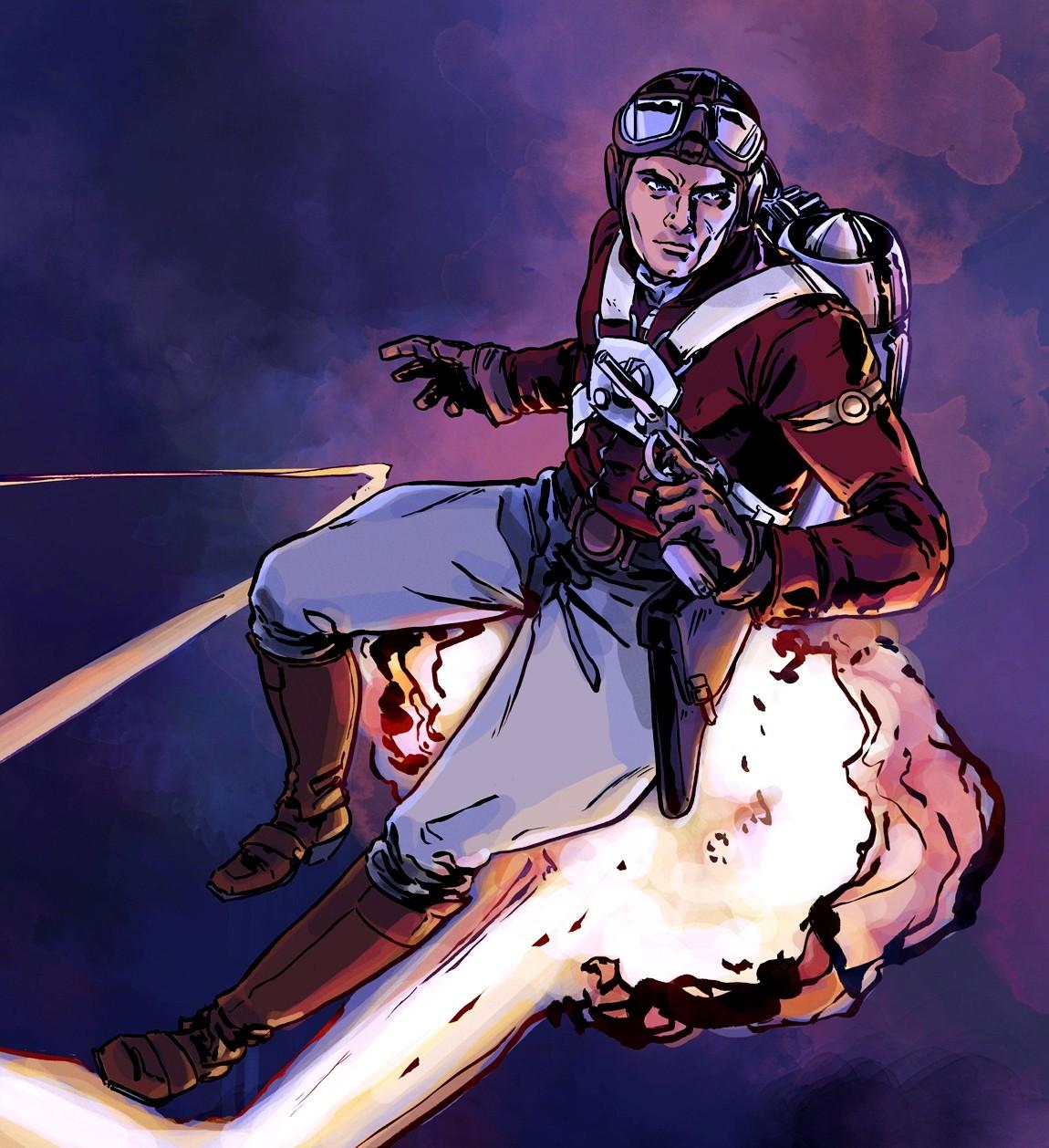 Gambar kartun Adam Strange 4