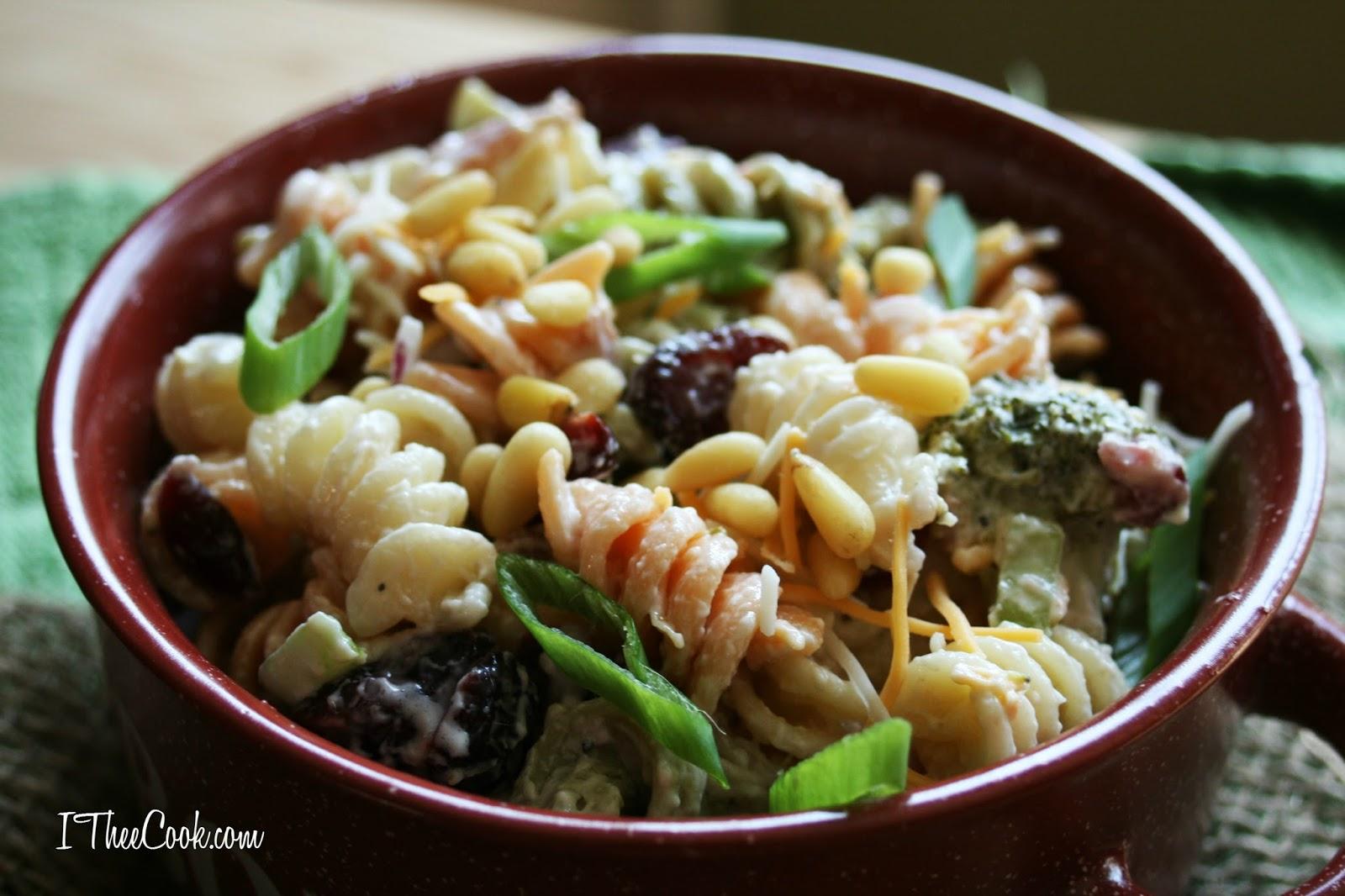 Fall pasta salad - Fall Harvest Pasta Salad