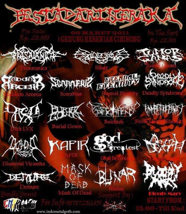 Event / Festifal Pesta dari neraka - Cibinong