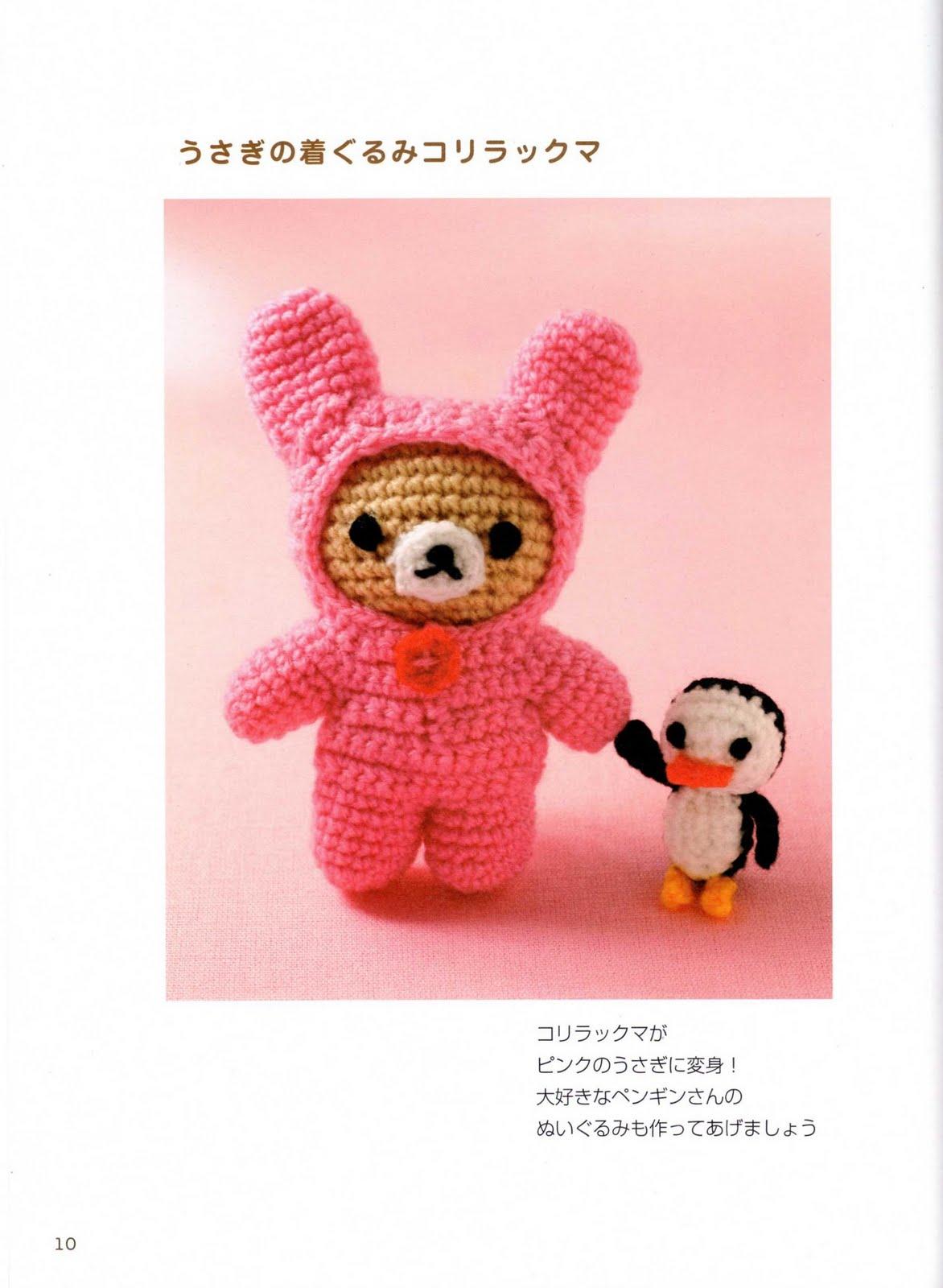 Amigurumi Conejo Kawaii : Quot mossita bella patrones y gr�ficos crochet amigurmis