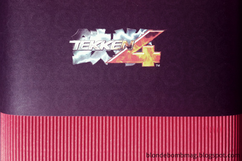 Tekken 4 press kit collector