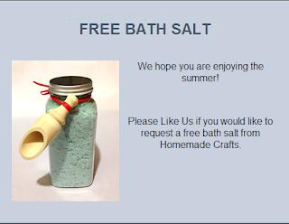 sali da bagno free sample