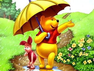 Wallpaper Lucu Winnie The Pooh dan Piglet Terbaru