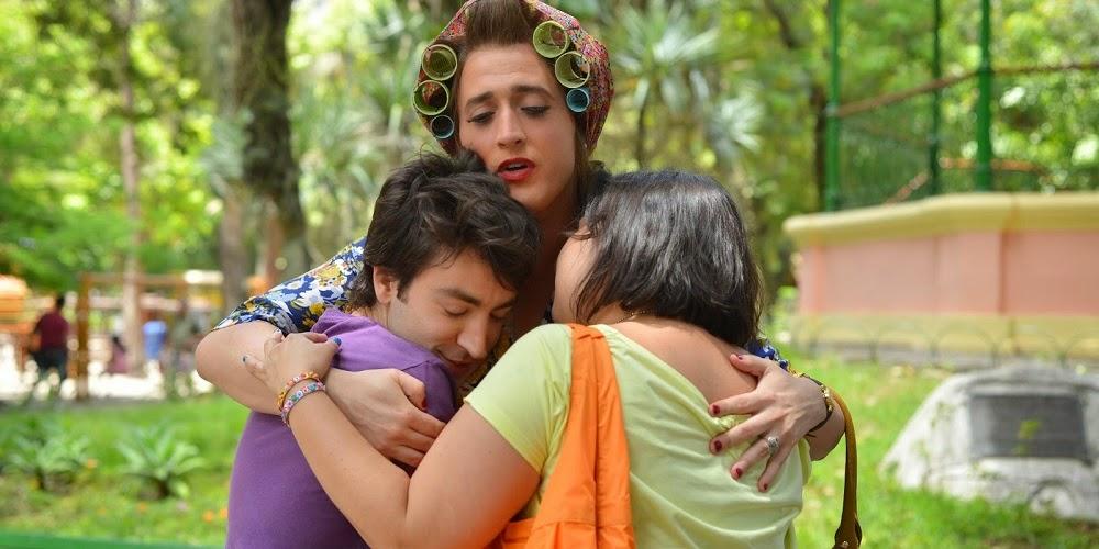 Rodrigo Pandolfo, Paulo Gustavo e Mariana Xavier em MINHA MÃE É UMA PEÇA - O FILME