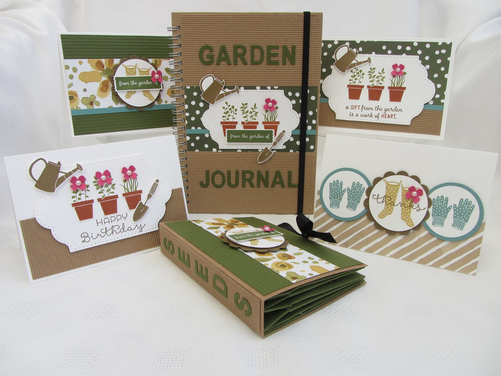 Gifts From The Garden Stamp Class