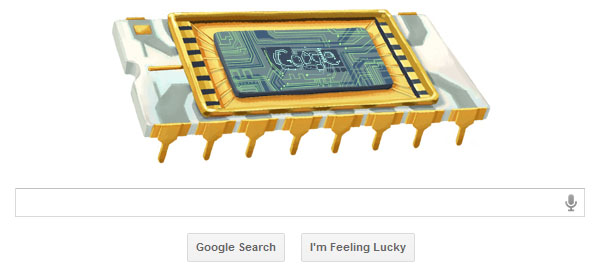 Google Doodle celebrate Robert Noyce's 84th Birthday, Integrated Circuit