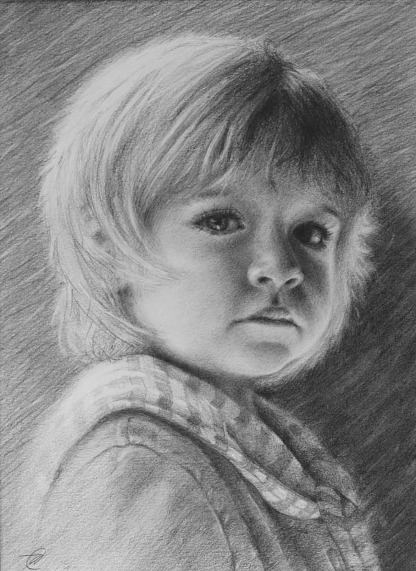 how to draw graphite portraits