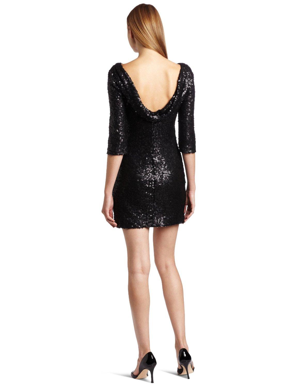 Jessica Simpson Women\'s Long Sleeve Sequin Mini Dress | Prom Sequin ...