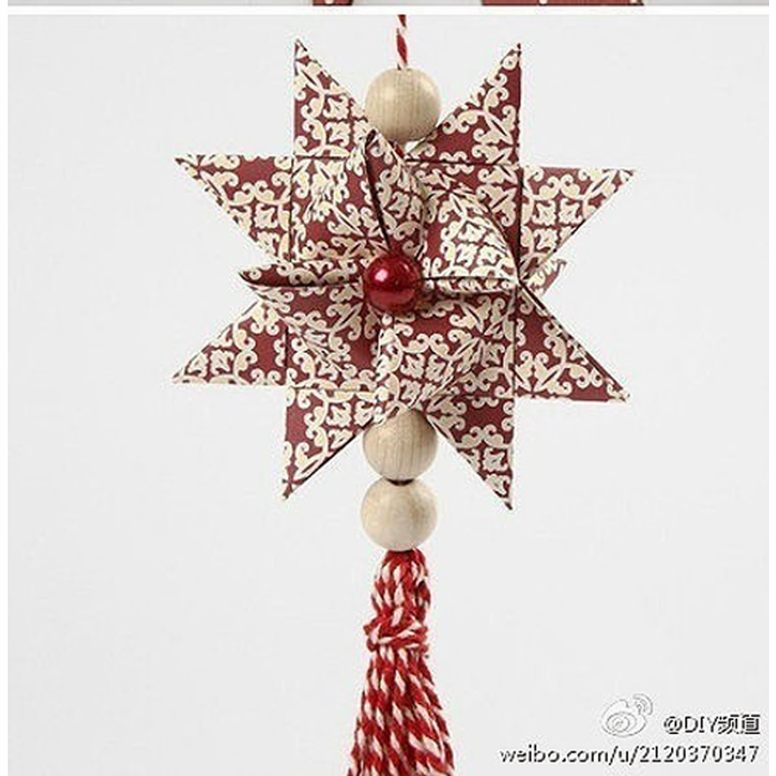 Star festivel 3d star origami paper origami guide for 3d paper star decoration