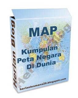 Kumpulan Peta Negara Di Dunia - Herlan Blog