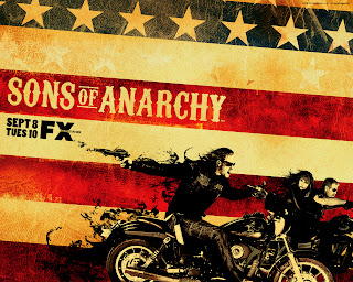 Sons of Anarchy American Flag Poster HD Wallpaper