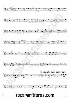Tubescore Black Tears Sheet music for Viola Lagrimas Negras by Bebo valdes Bolero music score