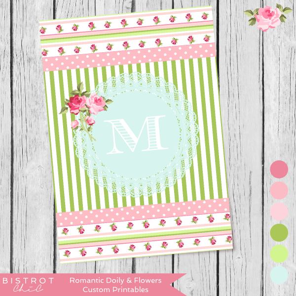 Personalized Party Printables by BistrotChic