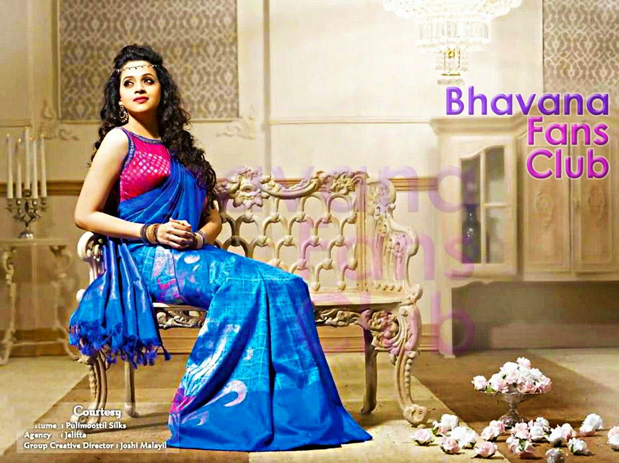 New pulimoottil silks advertisement actress bhavana fans club new pulimoottil silks advertisement altavistaventures Image collections