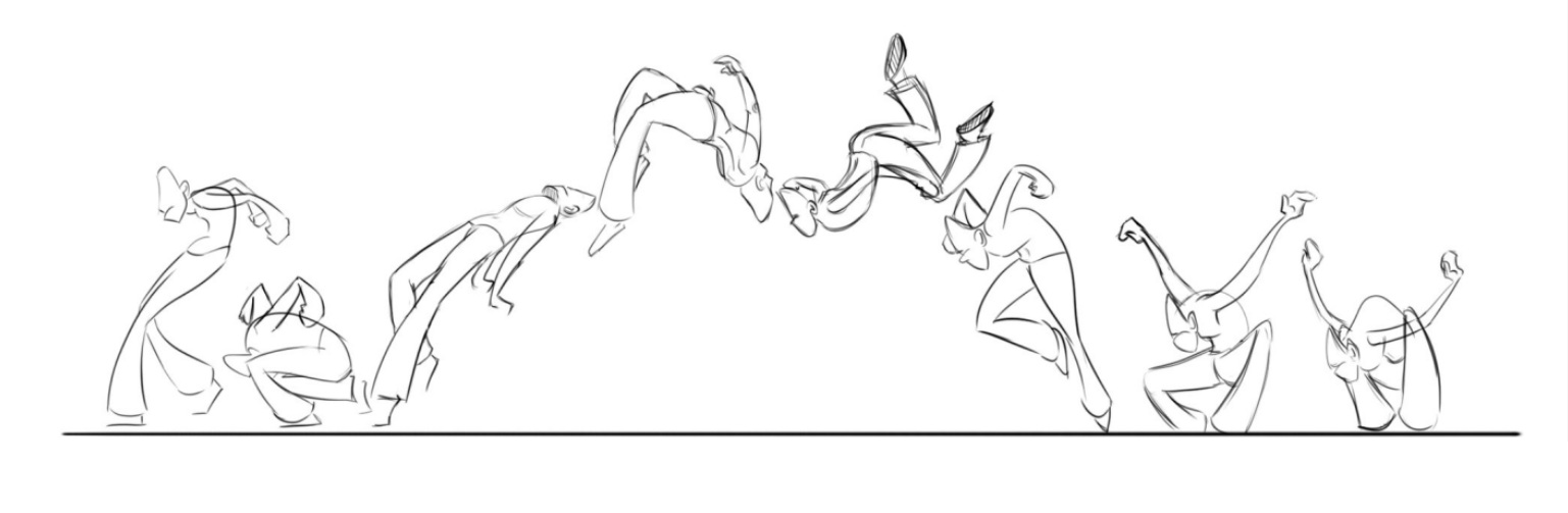 animation stuff the importance of poses dynamic poses
