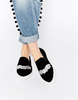 http://www.asos.com/ASOS/ASOS-DARLA-Halloween-Bat-Pointed-Plimsolls/Prod/pgeproduct.aspx?iid=5539396&cid=4172&sh=0&pge=0&pgesize=36&sort=-1&clr=Glitter+bat&totalstyles=2091&gridsize=3