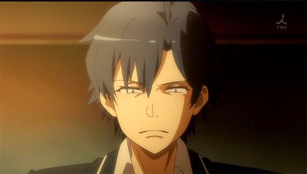 Hikigaya Hachiman (Oregairu) - sad