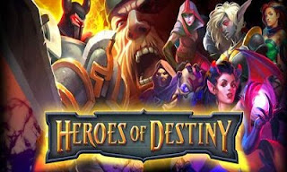 Screenshots of the Heroes of destiny for Android tablet, phone.