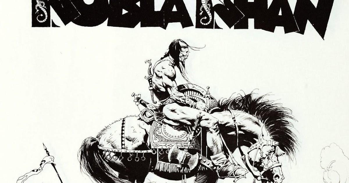 cap u0026 39 n u0026 39 s comics  the kubla khan portfolio by frank frazetta