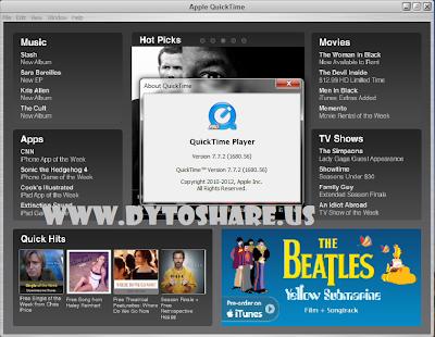 Untitled+1 Apple QuickTime Pro 7.7.2 + Keygen