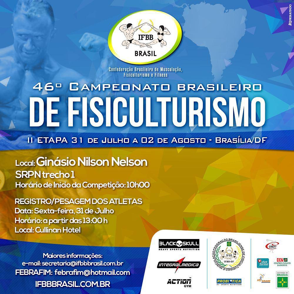 2ª etapa do Campeonato Brasileiro de Fisiculturismo 2015. Foto: Reprodução