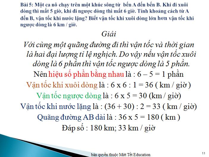 Bài toán chuyển động đều nâng cao (10)