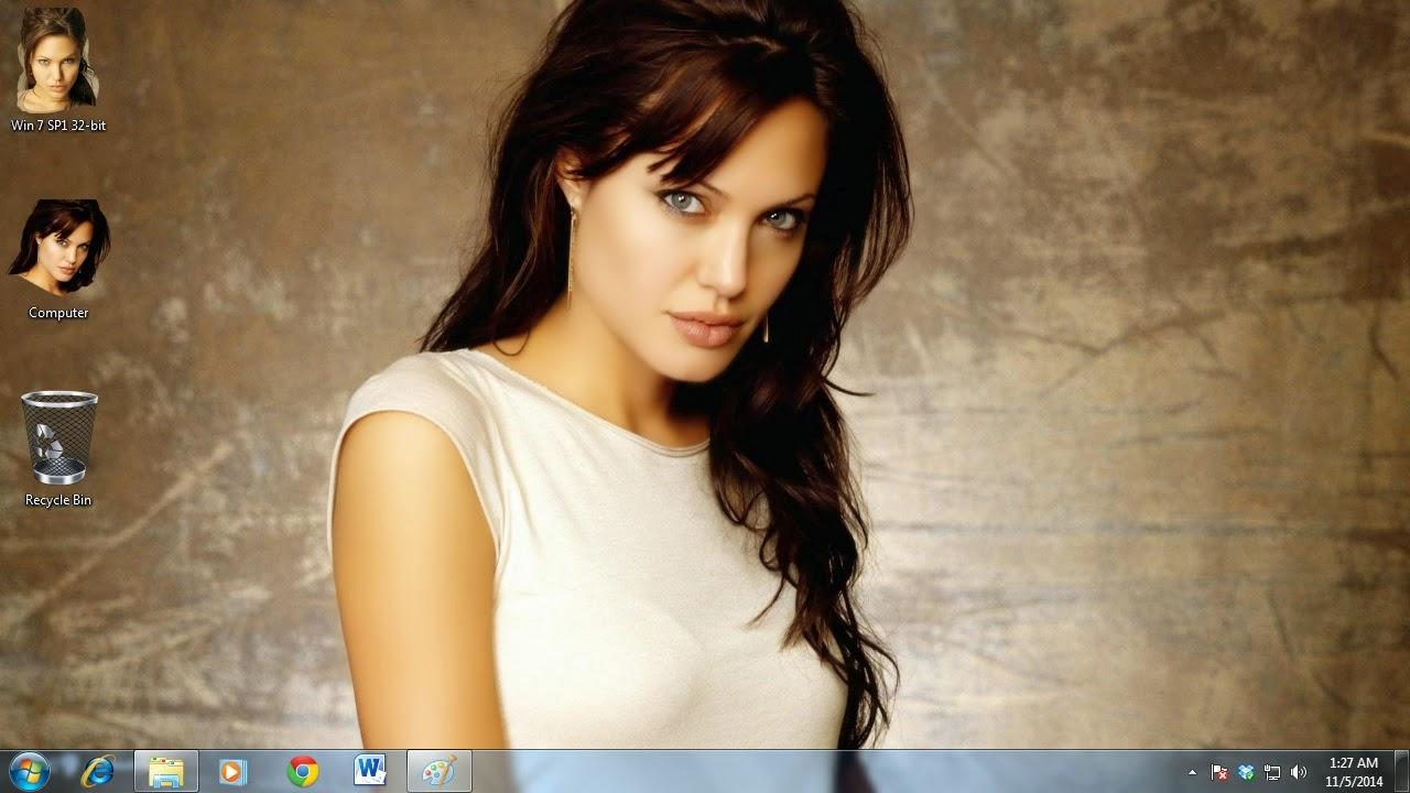 Baixar Angelina Jolie Tema para Windows