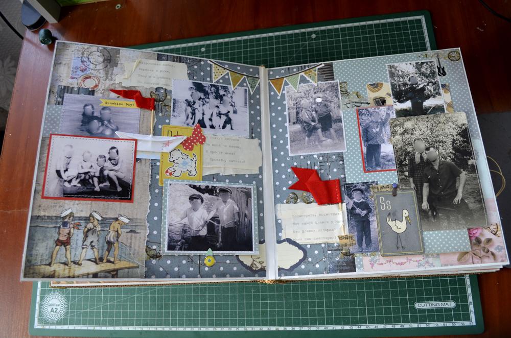 Фотоальбом с надписями в подарок 950