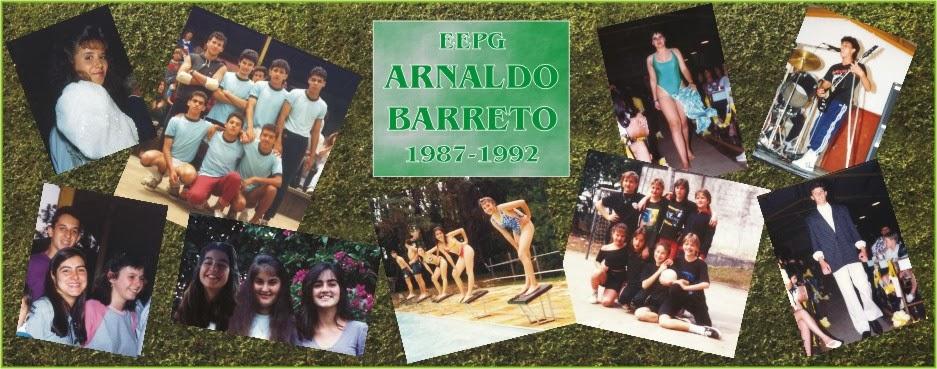 EEPG ARNALDO BARRETO - 1987-1992