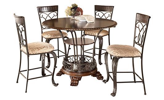 "Ashley Furniture HomeStore The ""Alyssa"" dining room"