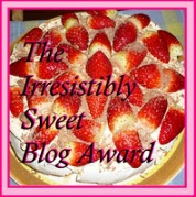 I Have A Sweet Blog!
