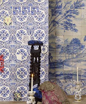 Papel pintado christian lacroix - Papel pintado sobre azulejos ...