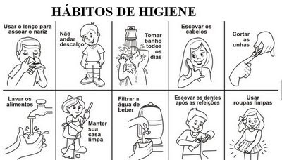 higiene individual: