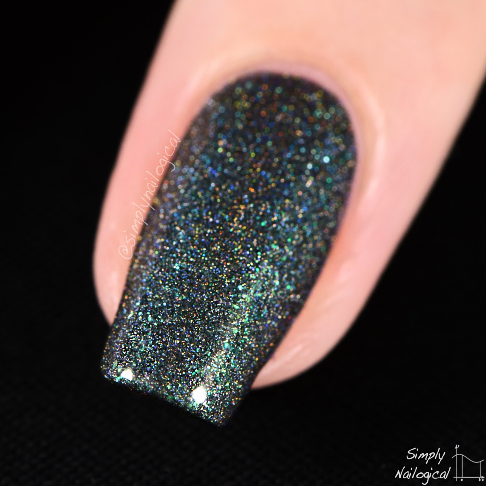Simply Nailogical: Powder Perfect: Holos from the Hardwicke collection