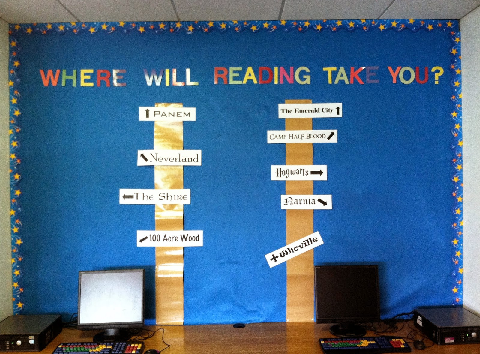 Bulletin Board: Where will reading take you?