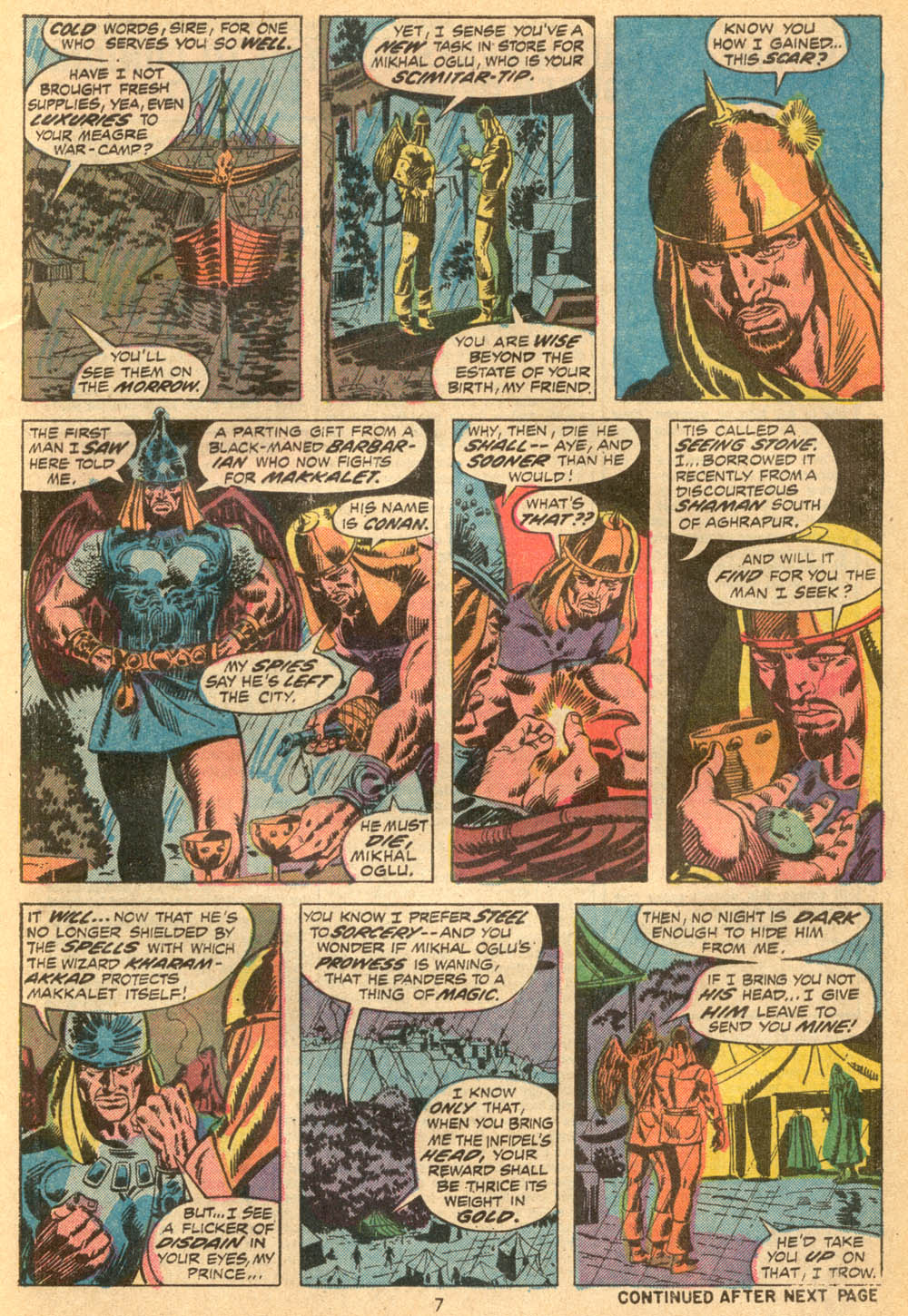 Conan the Barbarian (1970) Issue #23 #35 - English 7