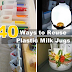 40 Ways to Reuse Plastic Milk Jugs