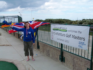 Emily Gottfried - 2011 WMF World Adventure Golf Masters Women's Champion