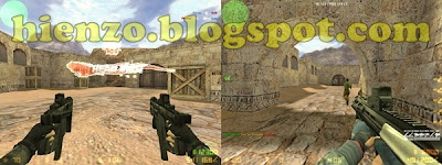 dual kriss batik dan aug a3 counter strike 1.6
