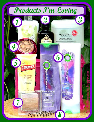 Beauty Products I'm Loving Right Now by spicypinkinspirations.blogspot.com