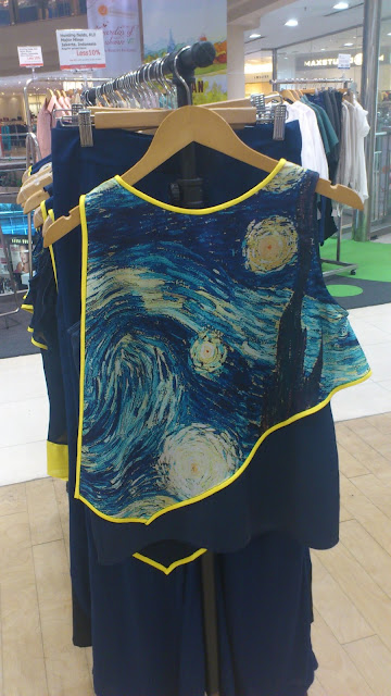 Major Minor top inspired by Van Goch's Starry Night